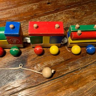 ミキハウスファースト 木製ブロックトレイン