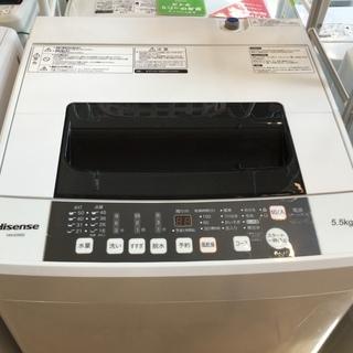 【安心6ヶ月保証付】簡易乾燥機能付洗濯機 ハイセンス HW-E5...