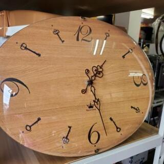 キーズクロック ナチュラルオーバル壁掛け時計