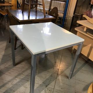 JF00513 ハイテーブル 白 テーブル