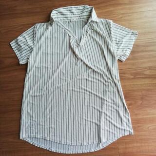 L ゆったり半袖シャツ