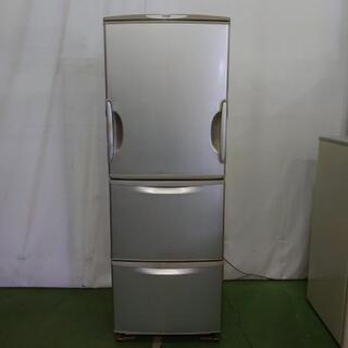 【商談中】シャープ 3ドア冷蔵庫 両開きタイプ SJ-WA35G...