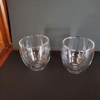ボダム ダブル ウォール グラス2個セット