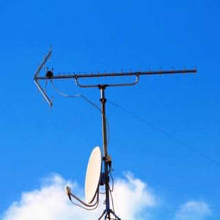 アンテナ、テレビ回線工事