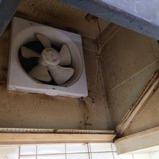 換気扇の設置、取り替え、清掃工事
