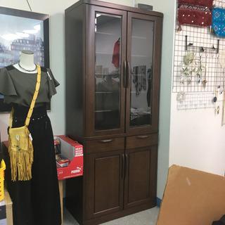 【地域限定】食器棚 送料設置費込み