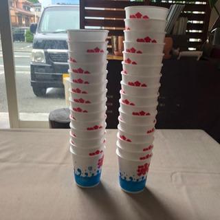 かき氷カップ 大、小2種セット