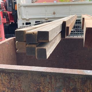 処分値下げ DIY 木材11本セット 長さ3000mmくらい
