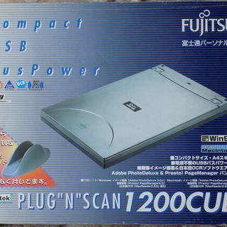 """富士通 FUJITSU PLUG-""""N""""-SCAN 1200CU..."""