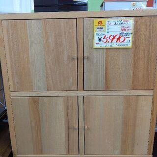 0603-32 IKEA 扉付収納棚 2x2 アッシュ材 組立ズ...