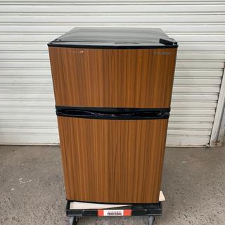 エスキュービズム 冷蔵庫 WR-20WD  90ℓ