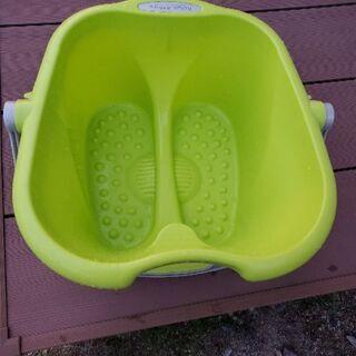 足湯 のバケツ