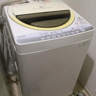 ★返信遅【中古洗濯機】TOSHIBA 容量6kg (7/6まで)