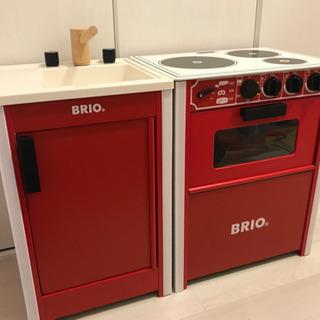 BRIO キッチン レンジ・シンク セット