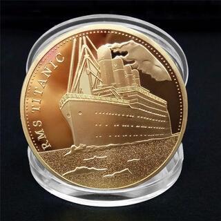 希少 タイタニック ゴールドの豪華な記念コイン