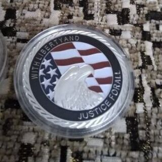 9.11 Silver Plated United We Sta...