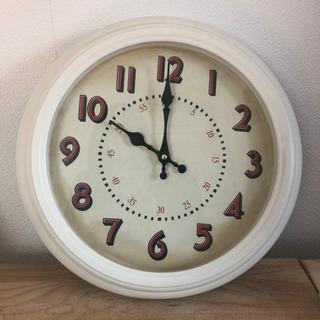 時計 壁掛け ホワイト