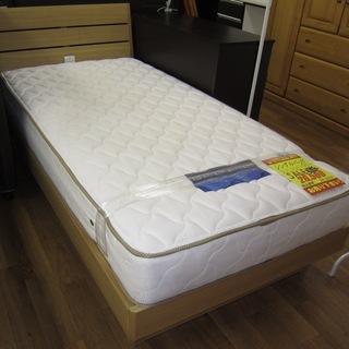 R213 高級感 国産シングルベッド 美品 幅98cm