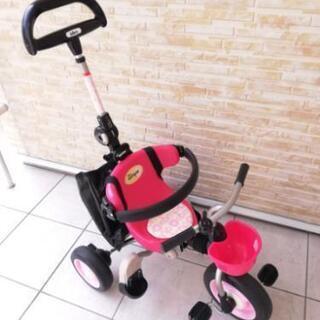 アイデス折りたたみコンポ(ピンク)三輪車