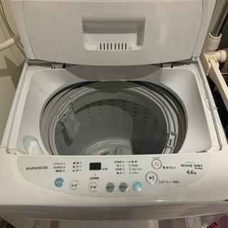 洗濯機 4.6kg