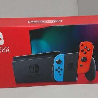 Nintendo Switch 新型 ネオンブルー / ネオンレ...