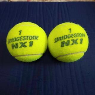 硬式テニスボール使用済み