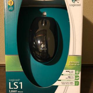 新品レーザーマウス500円(Logicool製)