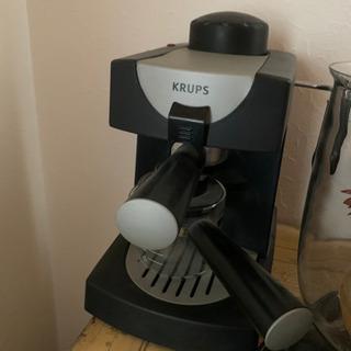 KRUPSコーヒーメーカー