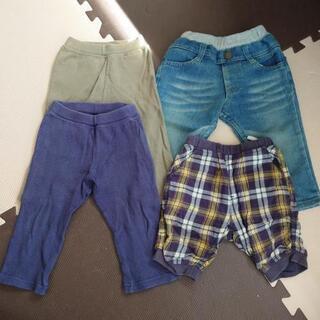 ズボン パンツ 4本 サイズ80