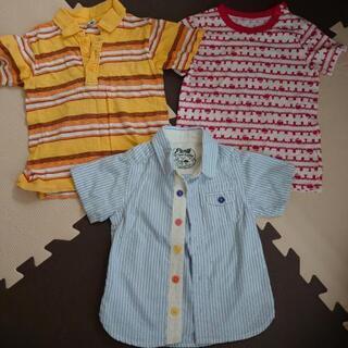 半袖シャツ Tシャツ 3枚 サイズ90