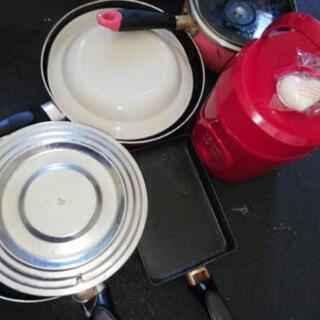 お1人暮らし応援! 炊飯器から、フライパン鍋など多数、すべて