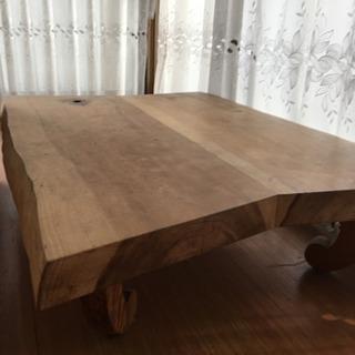 無垢板 テーブル