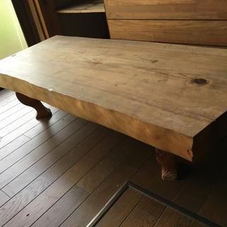 無垢板 テーブル ③