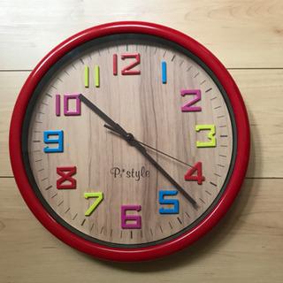 [商談中]  掛時計 直径31cm