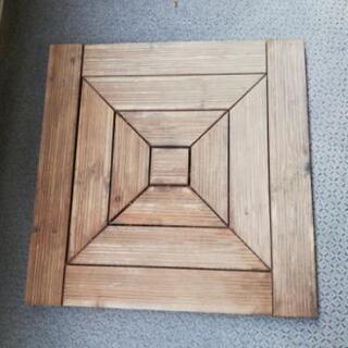 木製 ウッドデッキパネル