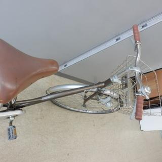 自転車 27インチ ブリヂストン EcoArch ベル カゴ ライト 鍵無し ブラウン×シルバー シティサイクル BRIDGESTONE ペイペイ対応 札幌市西区西野 - 自転車