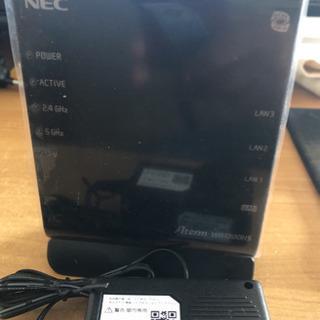 NEC無線LANルーター