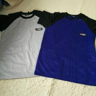 🐼速乾Tシャツ2枚色違い140