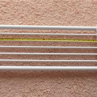 伸縮・突っ張り棒棚&伸縮・突っ張りポール   2個セット