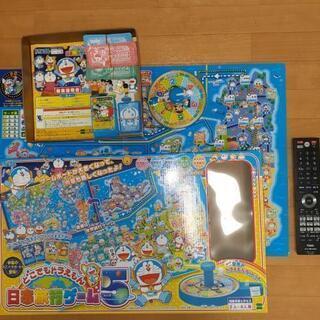 どこでもドラえもん 日本旅行ゲーム5美品 2~6人用 5歳~