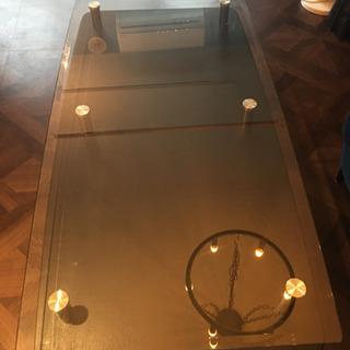 ガラス板テーブル