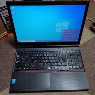 富士通ノートPC Core-i5/メモリ4GB/オフィス付き
