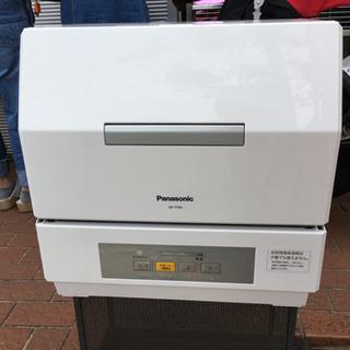 極美品 2017年製 Panasonic 食器洗い乾燥機 プチ食...