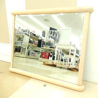 札幌市/清田区 店頭販売限定 複数在庫有☆ミラー 鏡 姿見 木製...