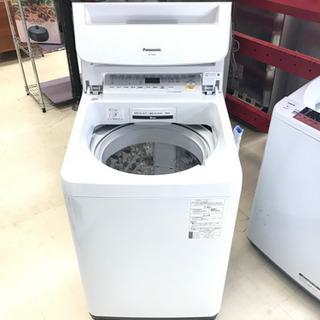 18年式 Panasonic 8kg 洗濯機 NA-FA80H6