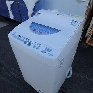 ガッツリ清掃済み☆2012年製☆シャープ 全自動洗濯機  ES-...