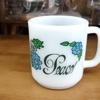 グラスベイク マグカップ ミルクグラス