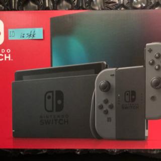 Nintendo Switch本体 グレー 新品、未使用