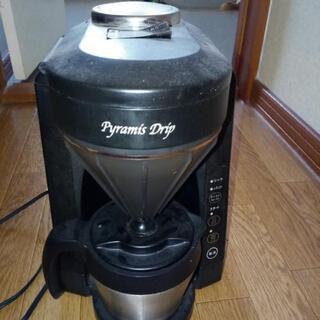 コーヒーメーカー 5杯分水量 ドリップ式 ミル付き