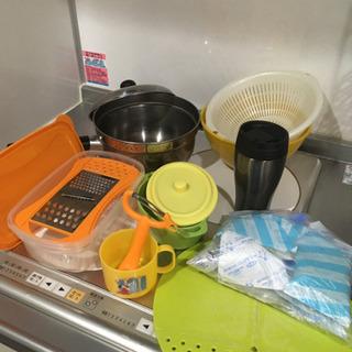 キッチン雑貨たくさん